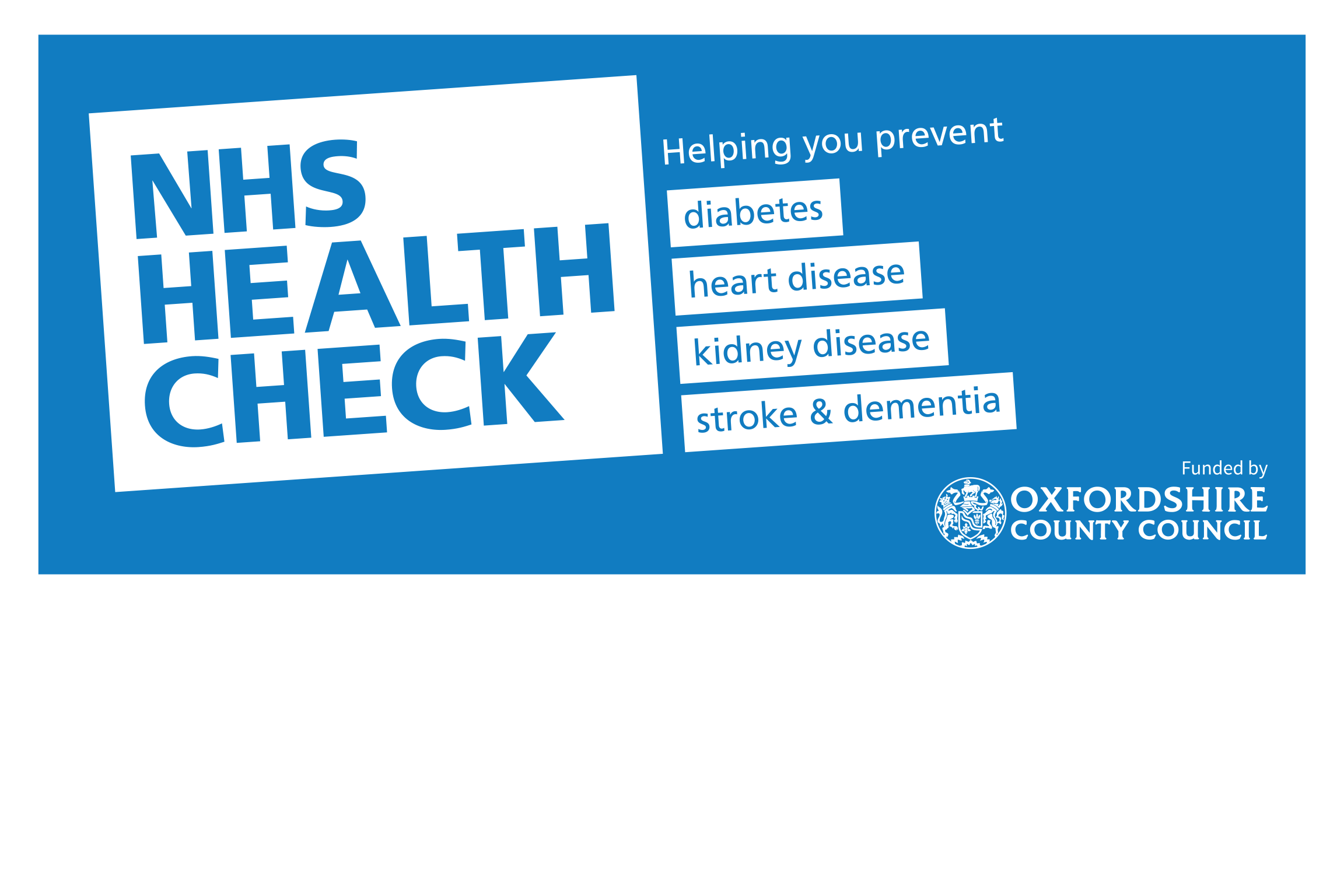 NHS Health Check logo